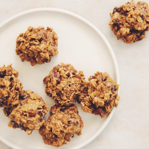 easy oatmeal chocolate chip cookies_hot for food