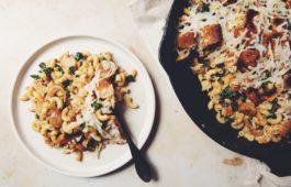 vegan french onion chicken casserole_hot for food