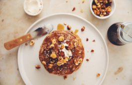 vegan hazelnut pancakes_hot for food