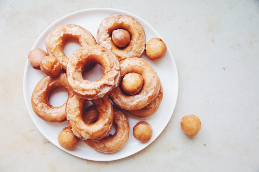 vegan old fashioned doughnuts_hot for food