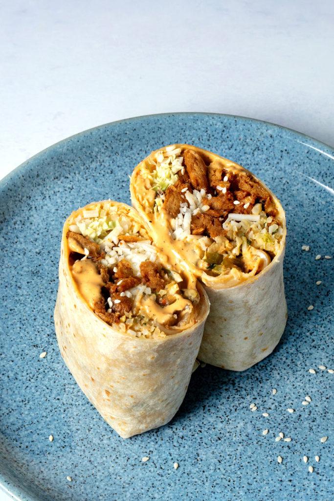 Korean BBQ Burrito_hot for food