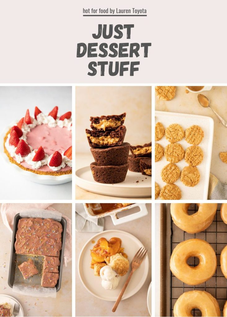 Just Dessert Stuff_ebook cover_hot for food