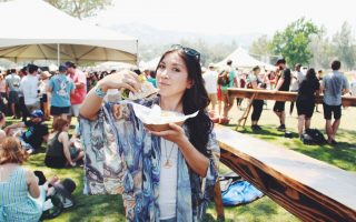what I ate at vegan beer fest_hot for food