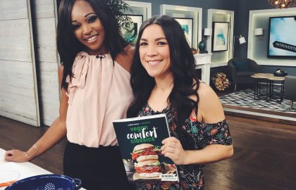 Lauren Toyota on Cityline for cookbook release