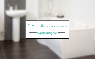DIY bathroom cleaners_hot for food