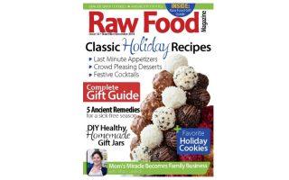 raw food magazine_hot for food