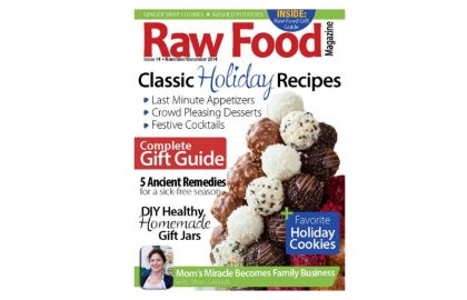 raw food magazine_hot for food