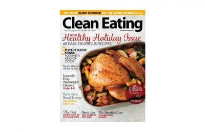 clean eating november 2014