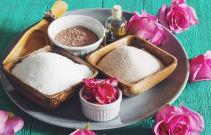 floral bath soak_hot for food