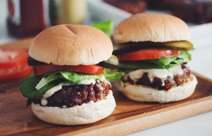 the best damn vegan burger_hot for food