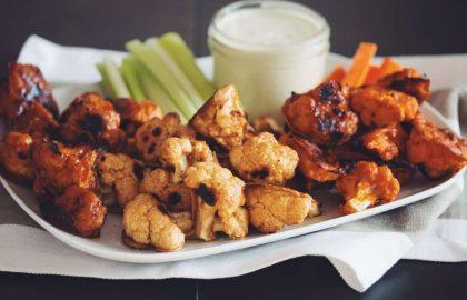 cauliflower buffalo wings_hot for food