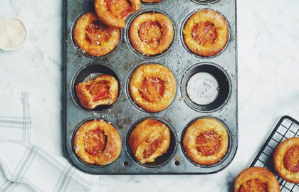 deep dish pizza muffins_hot for food