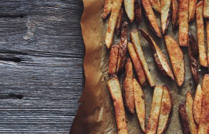 baked french fries_hot for food