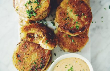 vegan kimchi stuffed potato cakes_hot for food