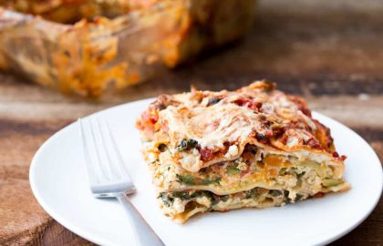 the perfect vegan lasagna_ hot for food