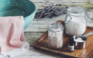 lavender foot soak_hot for food