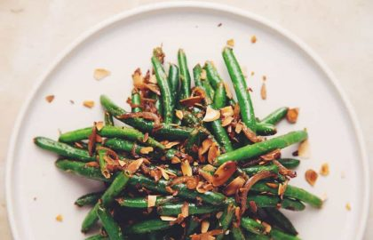 miso green beans_hot for food