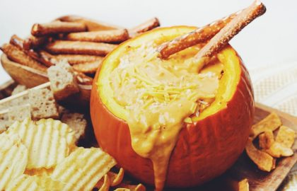 vegan pumpkin cheese fondue_hot for food
