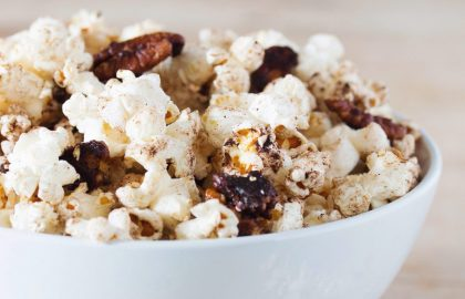 pumpkin spice pecan popcorn_hot for food