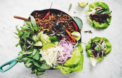 vegan thai lettuce wraps_hot for food