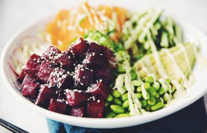 vegan tuna poke bowl_hot for food