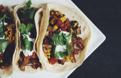 vegan breakfast tacos_hot for food