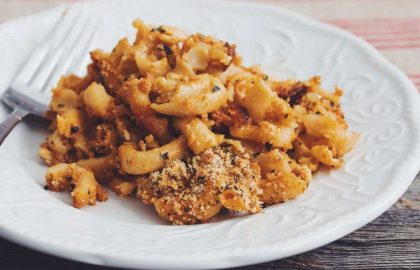 perfect vegan mac & cheese_hot for food