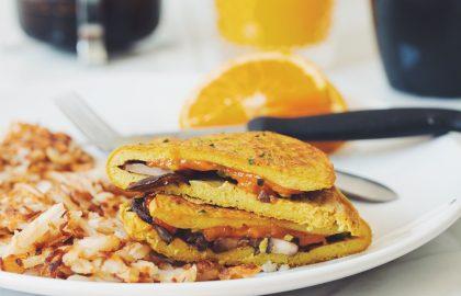 vegan omelette_hot for food