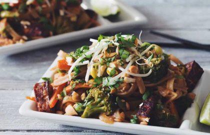 vegan pad thai_hot for food