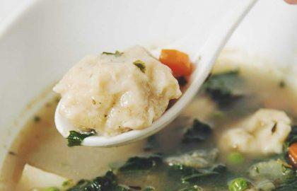 vegetable dumpling soup_hot for food
