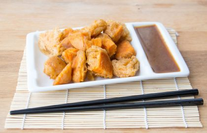 yam tempura_hot for food